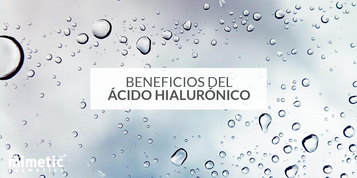 Beneficios ácido hialurónico