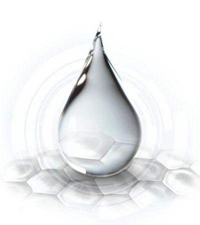 Imagen de una gota biomimetic